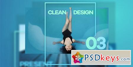 Clean Design Promo 15290027 After Effects Template
