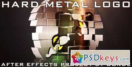 Hard Metal Logo 759755 After Effects Template