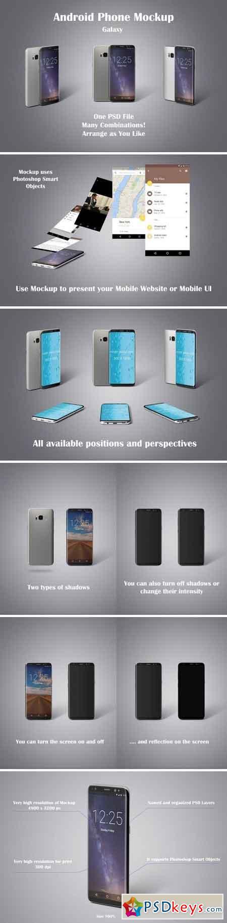 Android Phone Mockup 2609905