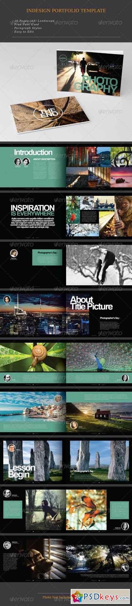 Indesign Photography Portfolio 7558538