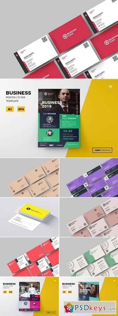 Business Flyer and Card Bundle 2