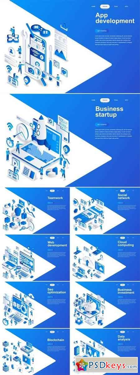 Business Isometric Bundle