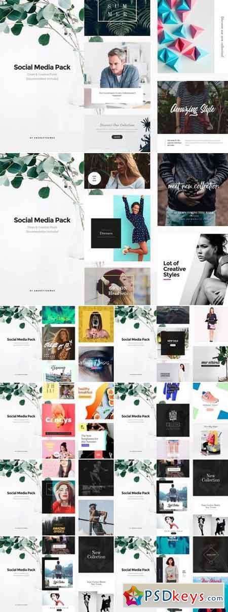 Social Media Banners Bundle - 9 Pack