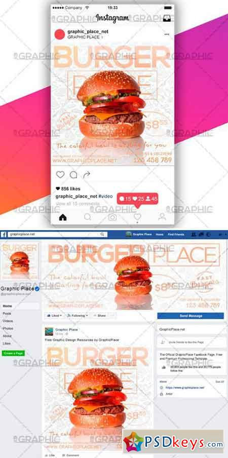 BURGER PLACE – SOCIAL MEDIA VIDEO TEMPLATE