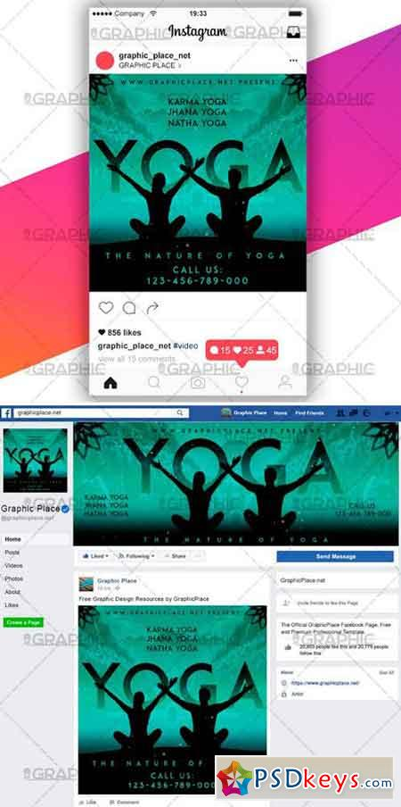 YOGA CLASS – SOCIAL MEDIA VIDEO TEMPLATE