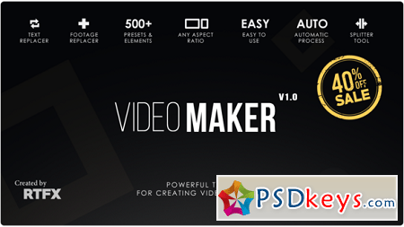 Video Maker 21801650 CRACKED After Effects Template