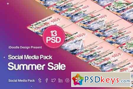 Social Media Pack - Summer Sale