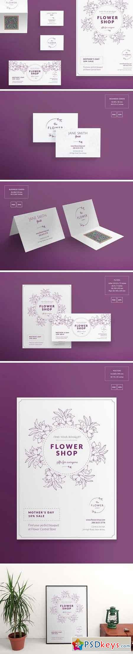 Print Pack Flower Shop 1495443