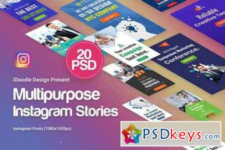 Creative Multipurpose Instagram Stories - 20PSD