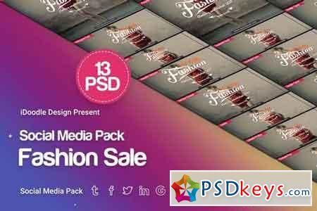 Social Media Pack - Fashion Sale