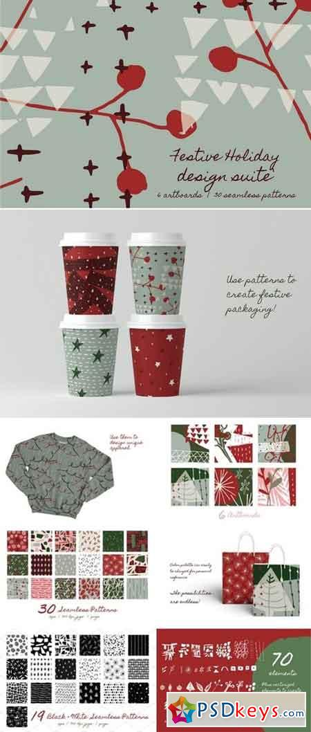 Festive Holiday Design Suite 2922301