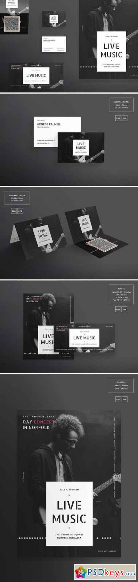 Print Pack Live Music 1498519