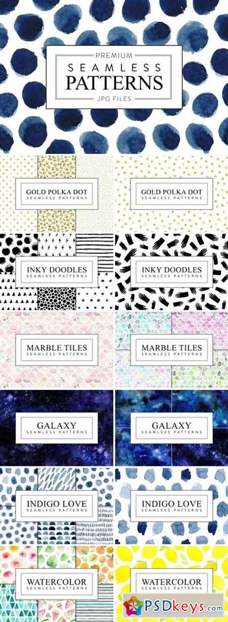 Seamless Patterns Bundle 1668060