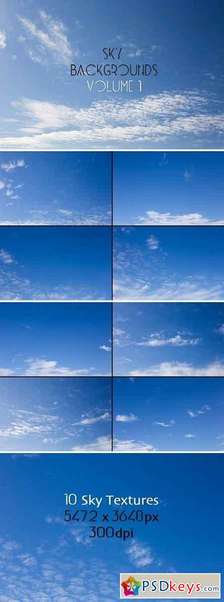 Sky Backgrounds Vol. 1 1800155