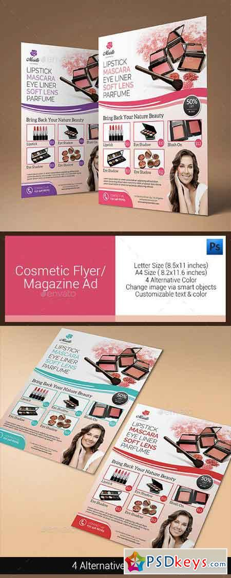 Cosmetic Flyer Magazine Ad 10944344