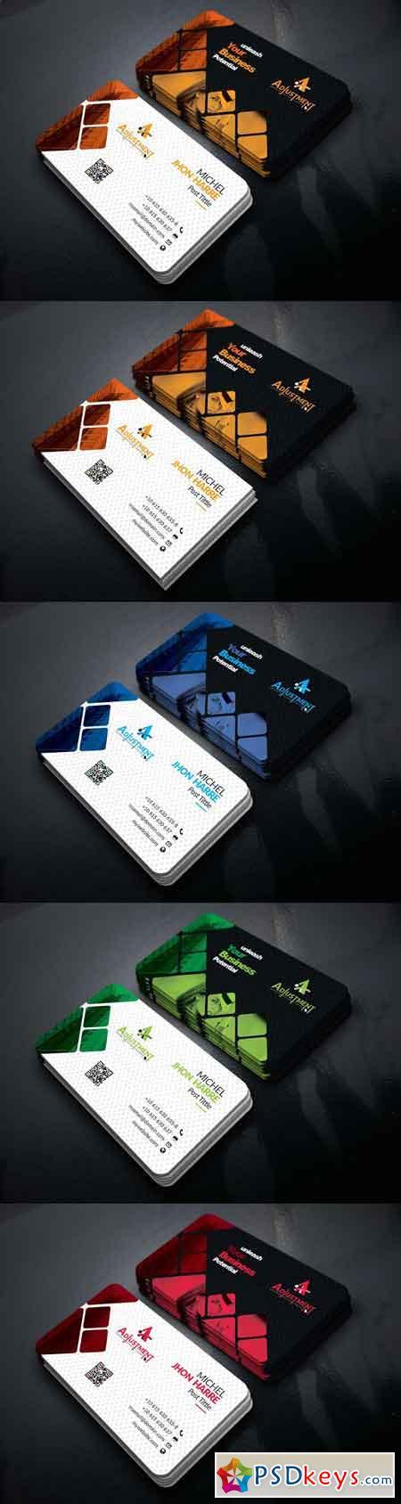 Corporate business card 2797525