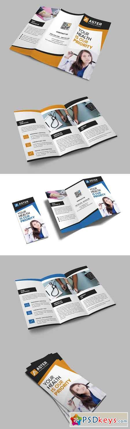 Medical Trifold Brochure 2797714