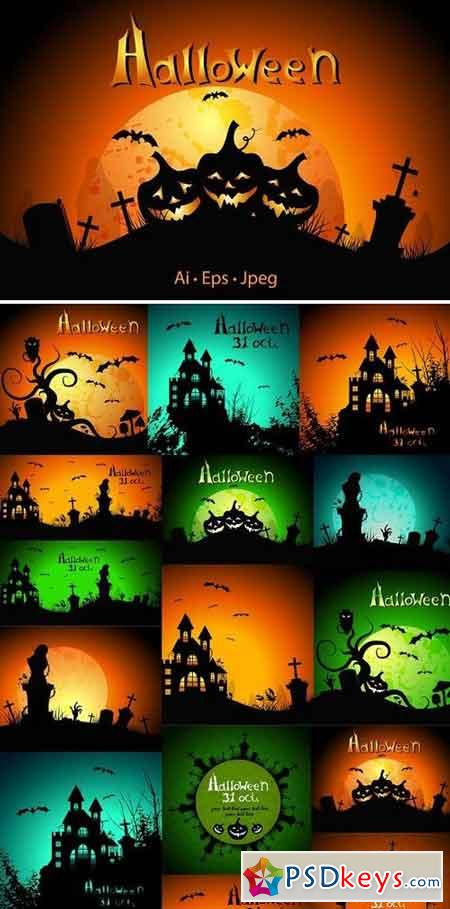 Halloween Greeting cards 1790084