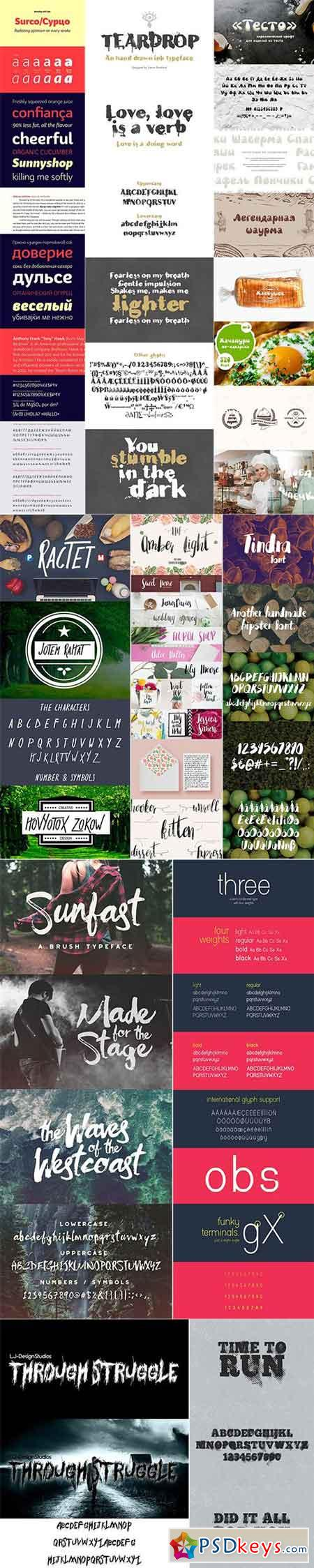 Mix Fonts Bundle 59