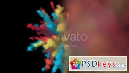 Colorful Explosion Logo 19845669 After Effects Template » Free