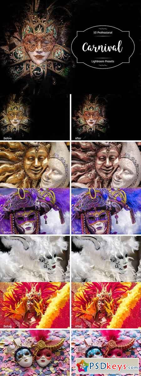 Carnival Lr Presets 2940438