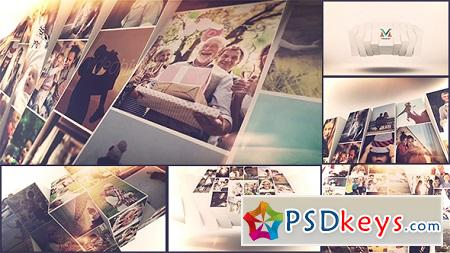 Photo Mosaic Slideshow 21428443 After Effects Template