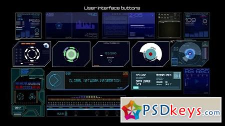 Pond5 - Hud User Interface Button Elements 067468406