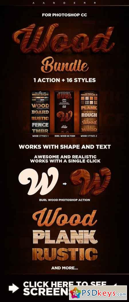 Wood Action & Styles Bundle 21131095