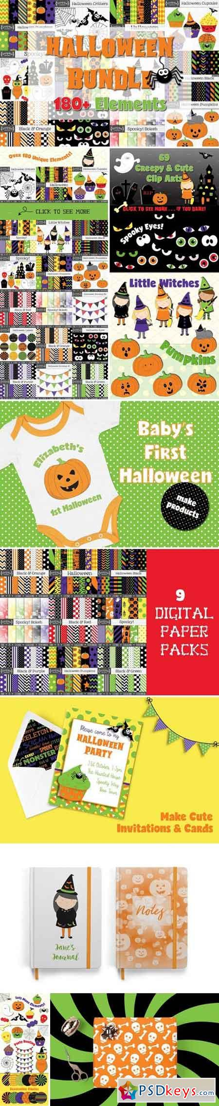 Halloween Graphics Bundle 2779000