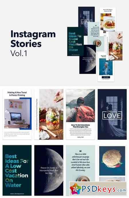 Instagram Stories Vol 1