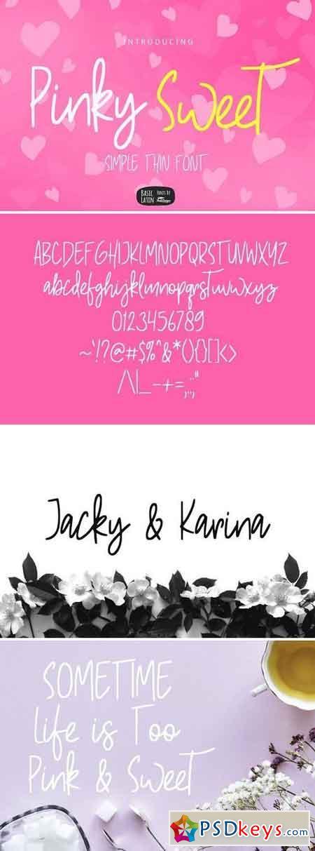 Pinky Sweet Cute Font 2706811