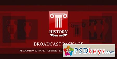 History broadcast package 3376293 After Effects Template