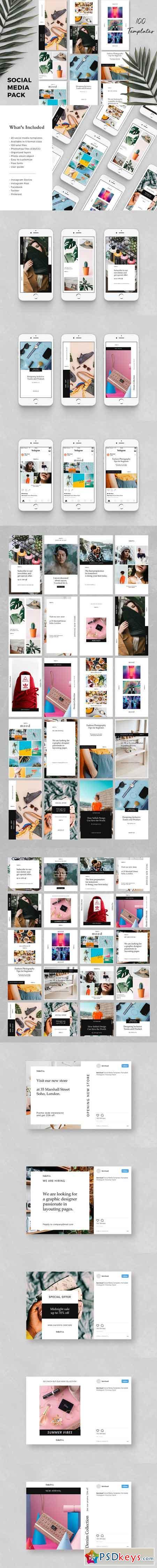 Noesa - Social Media Pack 2925065