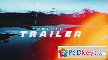 Powerful Trailer 21434332 After Effects Template