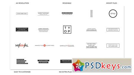 Typo 22377096 After Effects Template