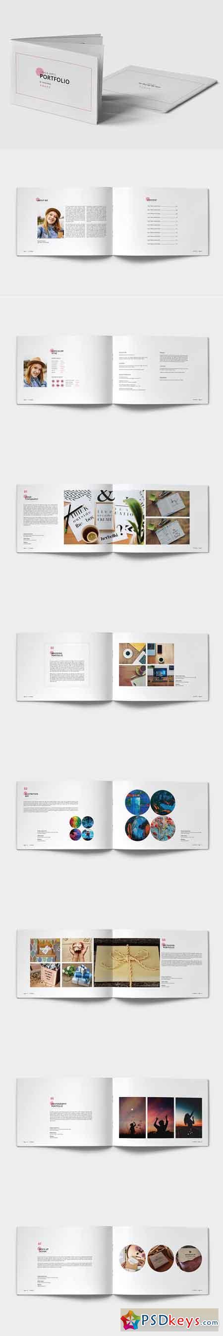 Clean & Simple Portfolio 2952857