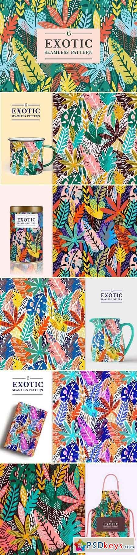 Exotic leaves patterns 2964655