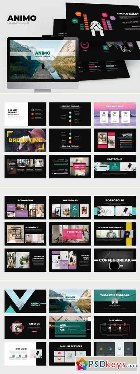 Animo Architect Powerpoint Template