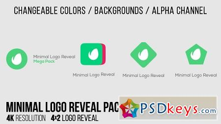 Minimal Logo Reveal Pack 15403253 After Effects Templates