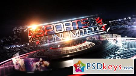 Sports Unlimited Broadcast Pack 6521500 After Effects