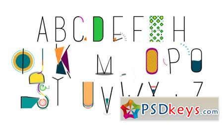 Videohive Alphabet 6253701 After Effects Templates
