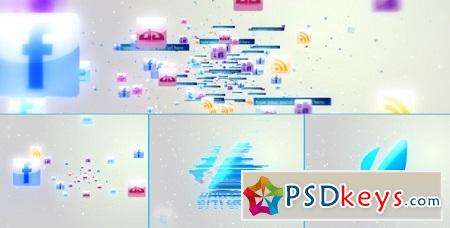Social Media Logo 3094116 After Effects Templates