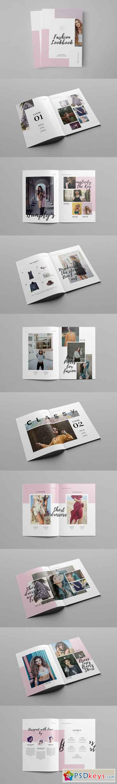 Fashion Catalog Lookbook Template 2961642