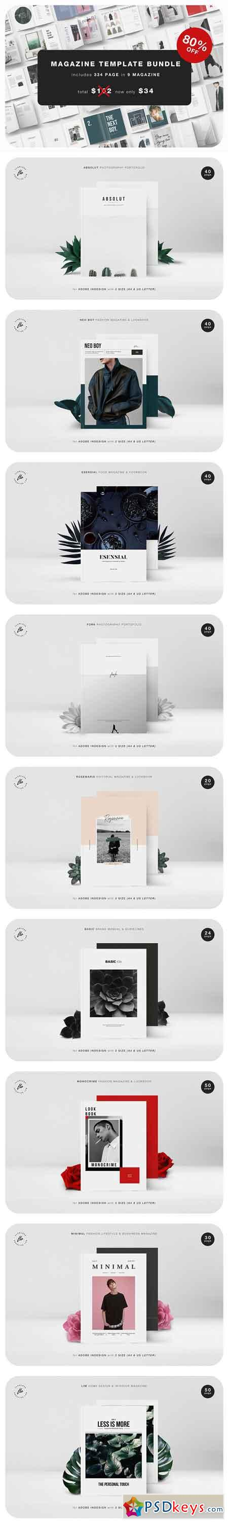 Magazine Template Bundle 2966501