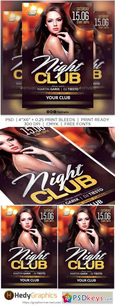 Night Club Flyer 22600073