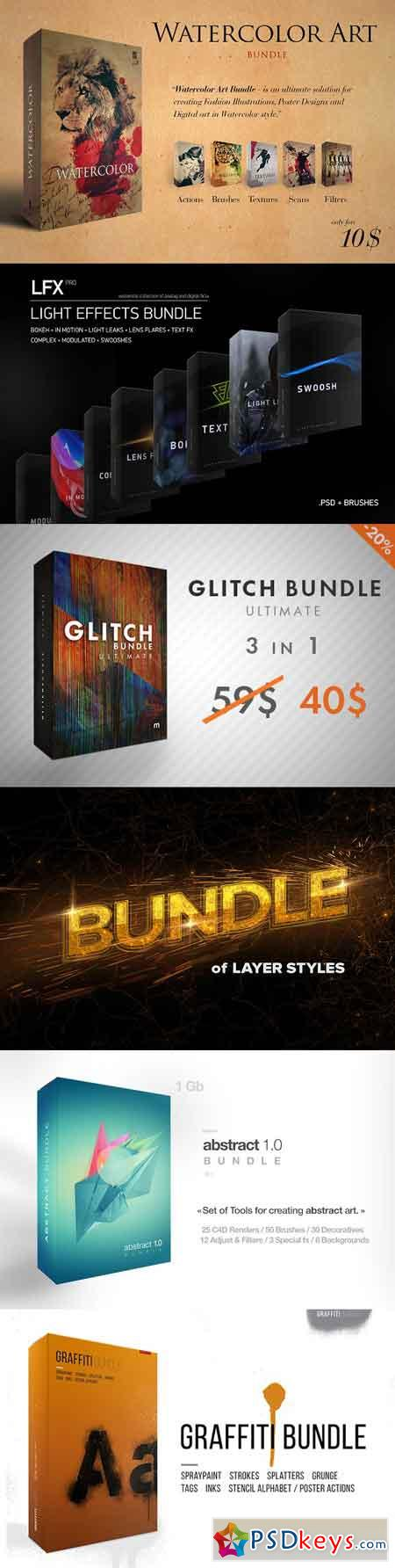 6 in 1 BEST Effects Bundle 514315