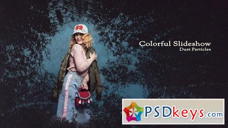 Colorful Slideshow - Dust Particles 22255337 After Effects Templates