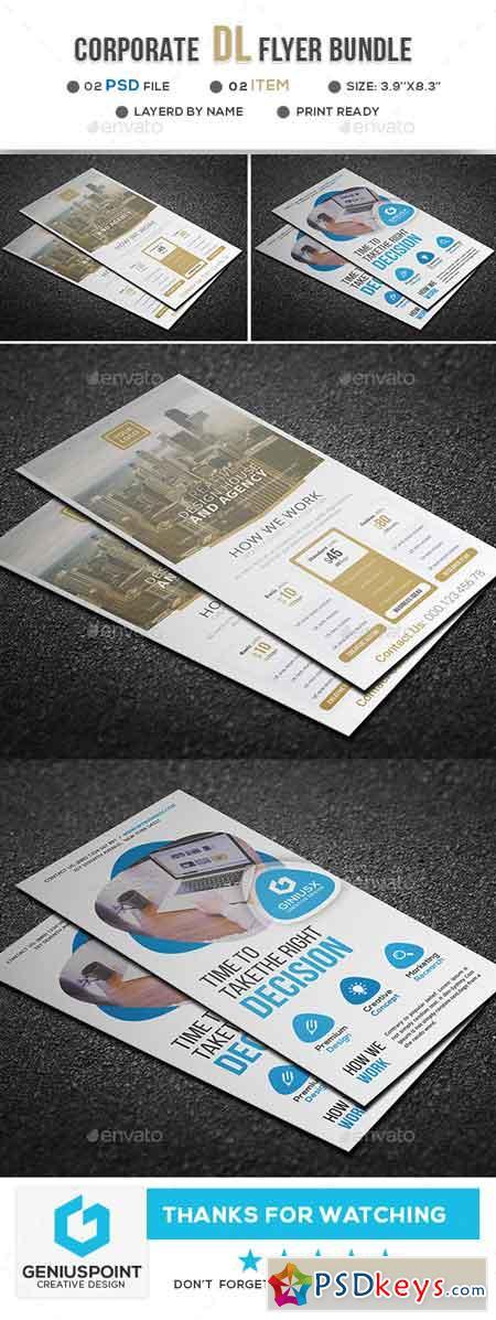 Business DL Flyer Bundle 22607767