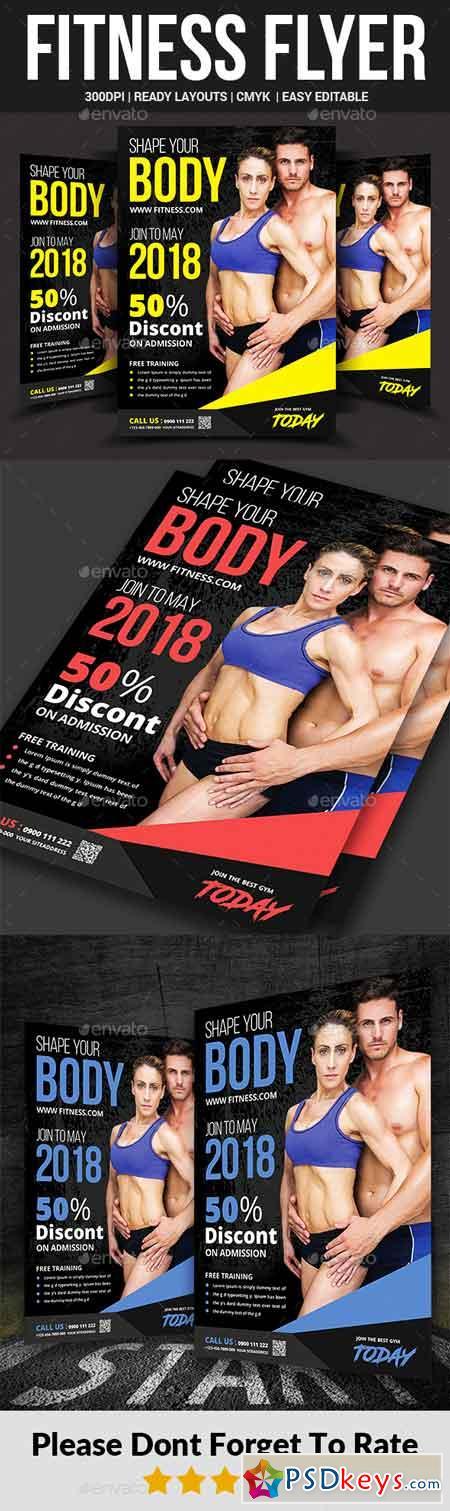 Fitness Flyer 22603056