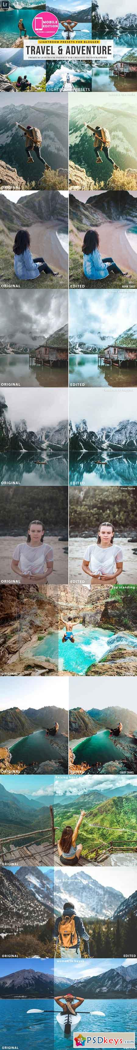 Travel & Adventure Lightroom presets 2968102